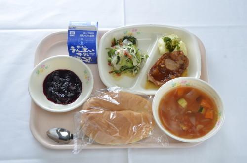 3日本一の給食