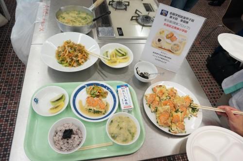 東京都の学校給食
