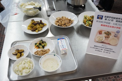 新潟県の学校給食